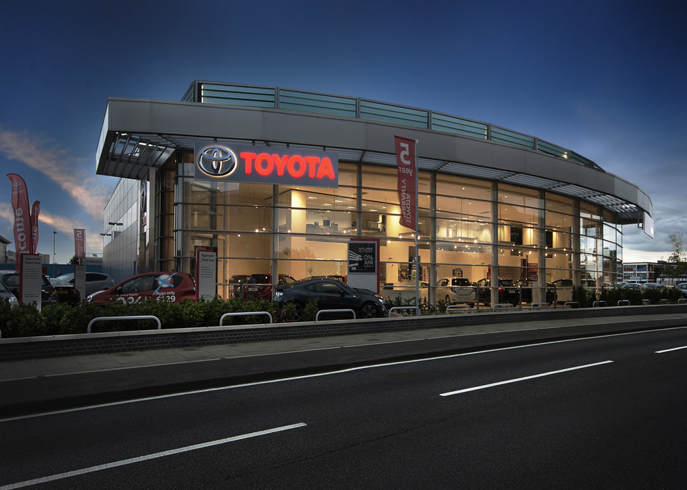 Toyota Nights2 by Lyndon Douglas